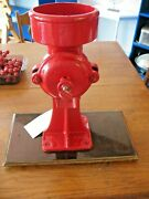 Antique Cast Iron Coffee Corn Grain Mill Grinder 2mb Embossed