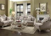 Acme Furniture Chelmsford Antique Sofa And Loveseat Living Room Set