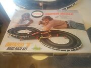 Vintage 70's Cox Super Scale Ontario 8 Slot Car Set. Tested And Works