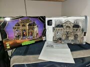 Rest In Pieces Mausoleum - Lemax Spooky Town 2010 - Retired - Ln Condition