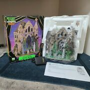Gothic Ruins - 2006 Lemax Spooky Town - Retired - Excellent Pre-owned Condition