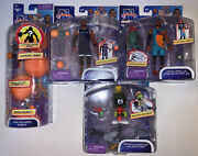 Space Jam 2 Toy Lot Figurines Nib Lebron Marvin The Martian A New Legacy 4 Pack