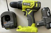 Ryobi One+ 18v Lithium-ion Cordless 1/2 In. Drill/driver Kit W/battery