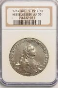 Russia Empire 1763 Rouble Ngc Au55 Ng1015 Combine Shipping