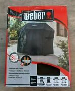Weber 51-in Black Gas Grill Coverfits Spirit 300 And Spirit Ii 300 Series|986