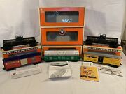 Lionel Lot Of 5 Lrrc Boxcars Dome Tank Cars Gondola 6-52171 Ogauge New