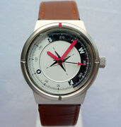 Audi Car Driving Sport Elegant Collection Compass Design Made In Germany Watch