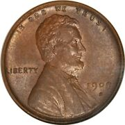 1909-s Vdb 1c Lincoln Wheat Cent Ngc Ms63bn 4-001