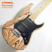 Edwards E-snapper-as/m Burner Natural Electric Guitar H Kaido Island Itand039s