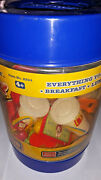 Vintage Mcdonald's Fast Food Restaurant Play Food Mixed Toy Lot