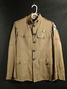 Wwi Us Army Iv Corps Ordnance First Sergeant Uniform Chinos Overseas Service
