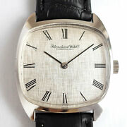Schaffhausen 2581 Old Inter Square Manual Cal.423 Watch Antique Overhaul