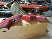 Convertible Rear Armrests And Interior Panels 1964 Ford Falcon Mercury Comet