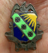 Ww 2 4th Composite Group Us Army Air Corps Unit Crest Dui Pin
