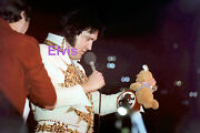 Elvis Presley In Mexican Sundial Suit Tcb Ring Largo Md 5/22/77 Photo Candid 5