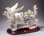 """The Art Of Porcelain """" Celestial Journey """" Figurine 1848 By Lladro"""