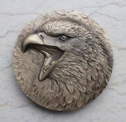 China 2016 60mm Brass Medal - Totemism Series - The Eagle Totem