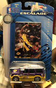 Kobe Bryant Nba Upper Deck Escalade 164 Scale Die Cast Collectible Car And Card