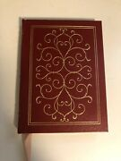 Ethan Frome Edith Wharton Easton Press Red Leather Gold Collectorand039s Library