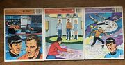 Lot Of 3 Star Trek Frame Tray Puzzles 1978 And 1979