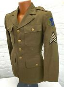 Vintage Us Army 26th Infantry Division Enlisted Jacket