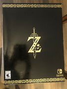 Legend Of Zelda Breath Of The Wild - Master Edition New Sealed Complete