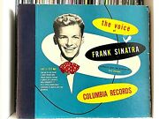 The Voice Of Frank Sinatra 1946 Shellac Columbia Records 1st Press 10 78rpm