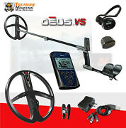 Xp Deus Metal Detector With Backphone Headphones Remote And 11andrdquo X35 Search Coil