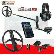 Xp Deus Metal Detector - Full Sized Headphones Remote And 11andrdquo X35 Search Coil