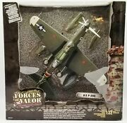 The Ultimate Soldier Forces Of Valor Die Cast U.s. P-39q Plane 132 Scale Nrfb