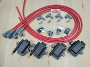 Ign1a Smart Coil With Built In Igniter 4 Cyl Kit And 90 Msd 8.5mm Spark Plug Wires