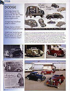 1936 Dodge + Convertible Article - Must See