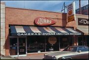 Early 1970s Detroit Dunns Camera Store Orig Amateur 35mm Photo Slide Photography