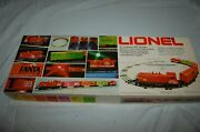 Vintage Lionel Coca Cola 1984 Train Set New In Box With Plastic Protector Sheet