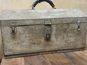 Rarevtg Snap On Tools 1940-1950s 2 Drawer Machinist Tool Box Very Hard To Find