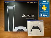 🔥ps5 Sony Playstation 5 Console Digital Version Brand New ✈️ Fast Same Day Ship