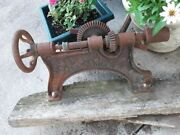 Antique Champion Blower And Forge Company Drill Press For Restoration Lapeer Mi