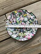 China Antique Porcelain Qing Mark Famille Rose Butterfly Flower Lace Bowl