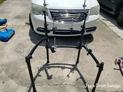 Roland Mds-9v V-drum Rack W/3 Pad Mounts, 1 Ball Mount, And 2 Cymbal Arms - 072621