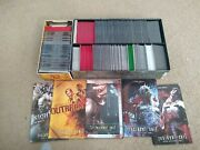 Resident Evil Deck Building Game Everything Made But 1 Promo 5 Sets 12 Promos