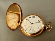 Waltham Waltham Hand-winding 15 Jewels Pocket Watch Antique Fortune A.w.c.co
