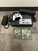 Xbox One -model 1540/500gb Console With Cables And Charger Brick -works Tested