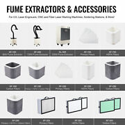 Omtech Xf180/xf250/xl300 Fume Extractors With Full Replacement Air Filter Packs