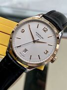 Heritage Chronometrie 112521 38mm Rose Gold 2017 Papers Box Mens Watch
