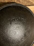 Vollrath Ware 8 Cast Iron Frying Pan/skillet W/heat Ring Sits Flat
