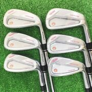 Homma Golf Tr20p Ibomi Limited Edition Iron Pieces Set 11 Ns Pro 950gh Neo
