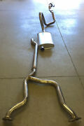 1977-79 Lincoln Mark V With 400 Engine Single Exhaust Aluminized With Resonator