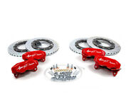 Agency Power Big Brake Kit Front And Rear Red Can-am Maverick X3 Turbo