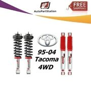 Rancho Loaded Quicklift Front Struts Andrs9000xl Rear Shocks For 95-04 Tacoma 4wd