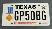 Texas Military Veterans Distinguished Flying Cross License Plate